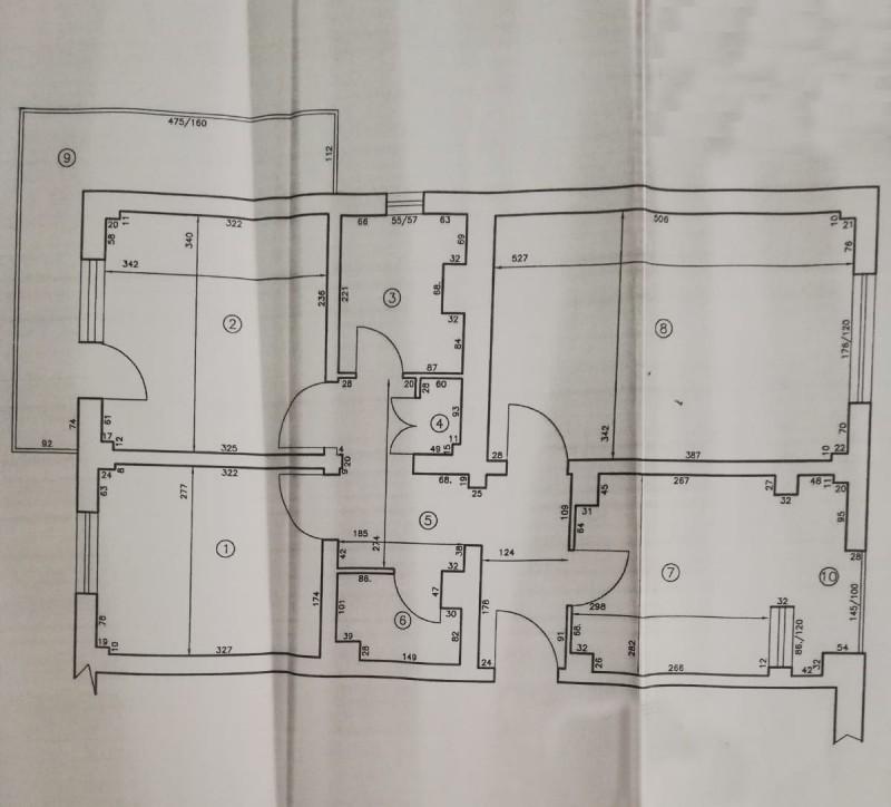3 camere decomandate, 62mp utili, Calea Bucuresti - Electroputere Mall, liber