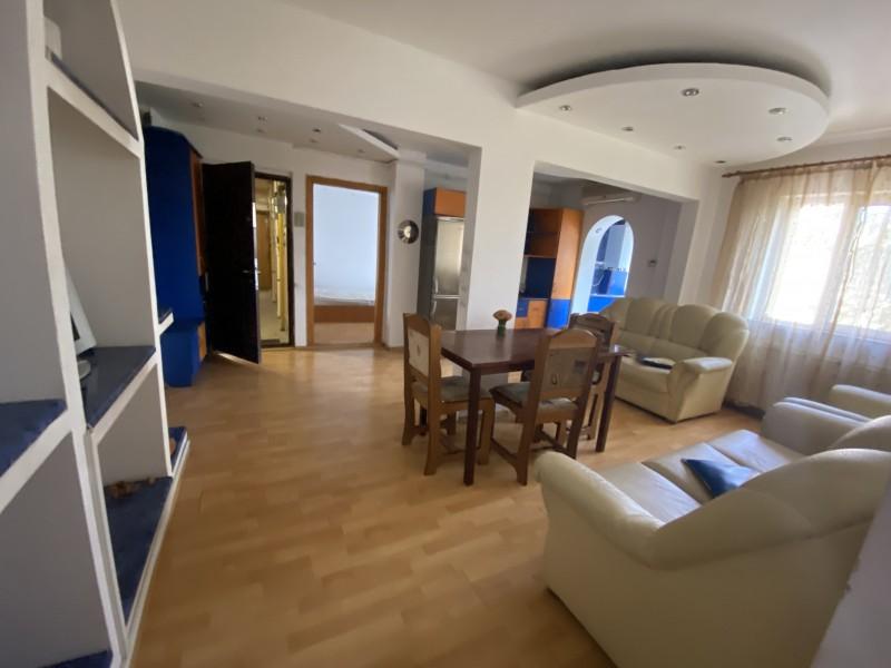 3 camere decomandate foarte spatios centrala termica, Sarari, mobilat, Lic Henry Coanda, etaj1
