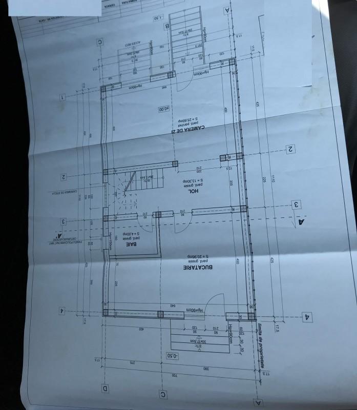 Casa in constructie Leamna de Sus, 700mp teren