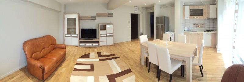 Inchiriere apartament 3 camere decomandat, mobilat, etaj 1/7, an constructie 1994, Calea Bucuresti, zona Mc'Donalds